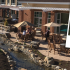 Courtyard Garden at The Atrium at Navesink Harbor CCRC, Red Bank, NJ