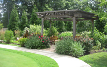 Garden Pergola is a place of respite and restoration
