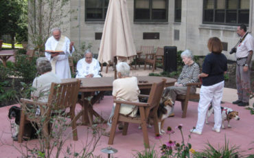 Special events, such as the blessing of the animals, is a special part of the residents lives