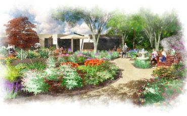 Landscape Plan Rendering – Tranquility Garden