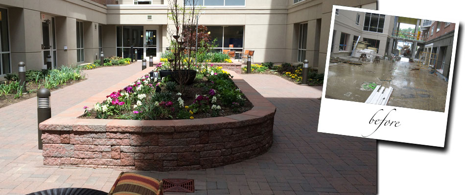 The Atrium Courtyard Garden at Navesink Harbor